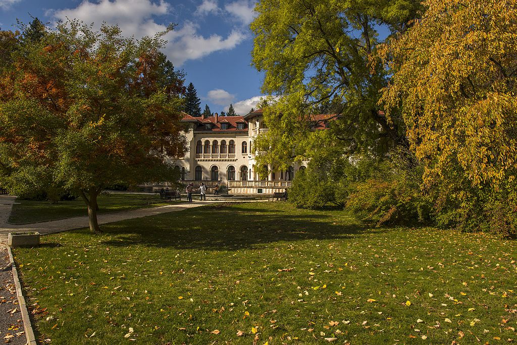 Vrana Park - Sofia Former Royal Palace | Private tour of Romania ~ Bulgaria ~ Greece