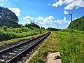 Залізнична лінія Гречани - Ларга, платформа Вовківці.jpg