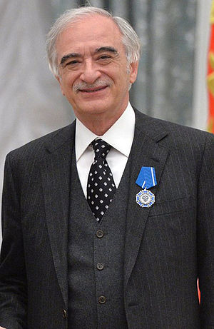 Polad Bülbüloğlu - On the ceremony of rewarding the order of Honour. (2015)