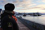 Прибытие атомного подводного ракетного крейсера Северного флота «Орёл» в пункт постоянного базирования 04.jpg