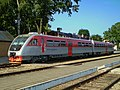 РА2-037, Литва, Мариямпольский уезд, станция Казлу-Руда (Trainpix 126575).jpg