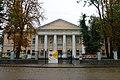 Рівне, вул. Драгоманова 19, Будинок гімназії де навчався у 1866–1871 рр. письменник В. Г. Короленко.jpg