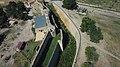 Рів біля цивільного двору Аккерманської фортеці - вид з БПЛА.jpg