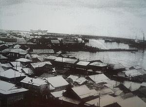Soviet assault on Maoka - Maoka in the 1940s