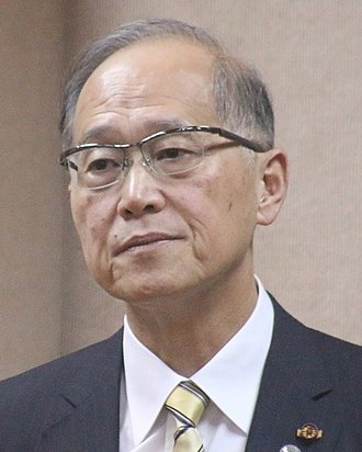 Foreign relations of Taiwan - David Lee, the incumbent Minister of Foreign Affairs.