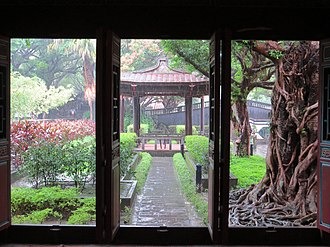 Han Taiwanese - Lin Family Mansion and Garden, a traditional Han residence built in 1847. The ancestor of the Lin family came from Chang-chow, Hok-kien, Ching Empire in 1778.