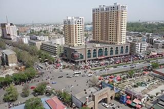 Yining County-level city in Xinjiang, Peoples Republic of China