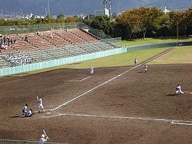 西条市ひうち球場 - Wikipedia