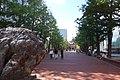 赤れんが通りから旧北海道庁 - panoramio.jpg