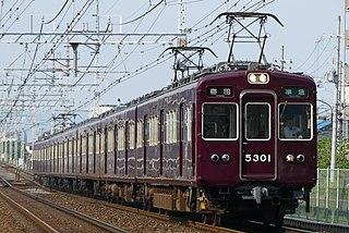 Hankyu 5300 series Japanese train type
