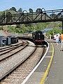 -2019-04-20 Steam locomotive 75014, Kingswear railway station, Devon (2).JPG