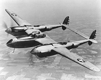 Lockheed P-38 Lightning - One of 13 YP-38s constructed