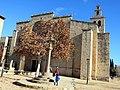 068 Monestir de Sant Cugat del Vallès, façana oest.JPG