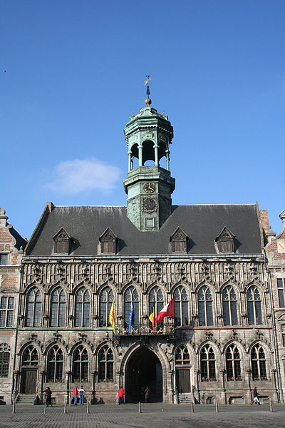 Mons (Belgium), the city hall  (1458-1477).
