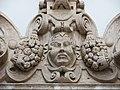 094 Església de Sant Miquel dels Reis (València), portal del claustre sud, timpà.jpg