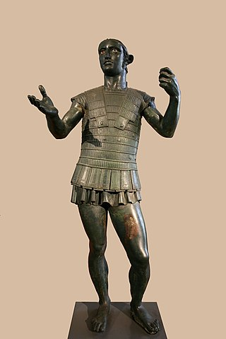 The Mars of Todi (400 BC) showing its interesting armour style