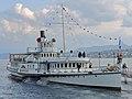 100 Jahre Dampfschiff 'Stadt Rapperswil' - Tag der offenen Dampfschiff-Türe am Bürkliplatz - Alpenquai 2014-04-26 17-47-28 (P7700).JPG