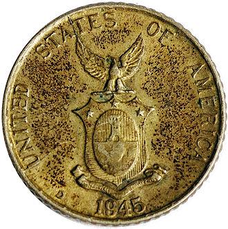 Centavo - 10 Philippine centavos (1945)