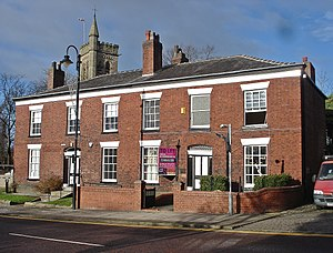 Listed buildings in Westhoughton - Image: 110 112, Market Street, Westhoughton