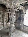 11th century Panchalingeshwara temples group, Kalyani Chalukya, Sedam Karnataka India - 74.jpg