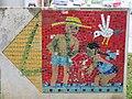1210 Aistgasse 8-30 - Mosaik-Wegweiser (7) von Hilde Leiter 1969 IMG 3523.jpg