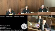 File:13-55374 Bruce Lisker v. City of Los Angeles.webm