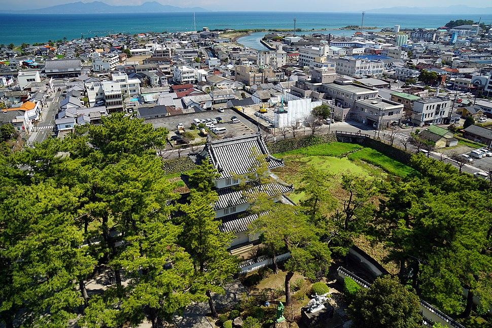 140321 A view from Shimabara Castle Shimabara Nagasaki pref Japan04s3