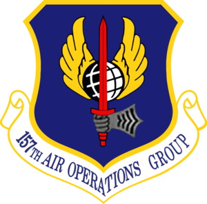157th Air Operations Group - 157th Air Operations Group emblem