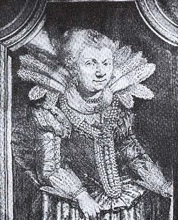 Juliane of Nassau-Dillenburg (1587-1643) daughter of Count John of Nassau-Dillenburg, by marriage Landgravine of Hesse-kassel