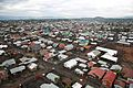 15 novembre 2014. Goma, Nord-Kivu, RD Congo. Une vue aérienne de la ville de Goma. (16927160596).jpg