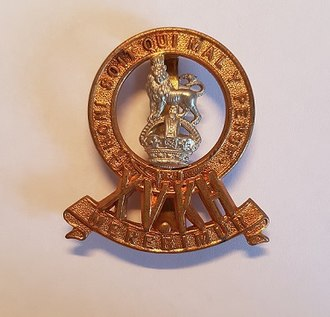 15th The King's Hussars - Badge of 15th The King's Hussars