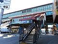 167th Street (IRT Jerome Avenue Line) SW Staircase.JPG