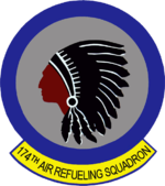 174th Air Refueling Squadron - Emblem.png