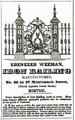 1851 Weeman MerrimackSt BostonDirectory.png