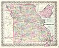 1855 Colton Map of Missouri - Geographicus - Missouri-colton-1855.jpg