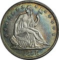 1858 Seated Liberty half dollar obverse.jpg