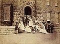 1871 Crawshay Wedding by Robert Thompson Crawshay at his castle.jpg