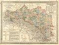 1895 - R.A. Schulz's General Post- und Strassenkarte von Galizien und Lodomerien mit Auschwitz, Zator und Krakau; so wie des Kronlandes Bukowina.jpg