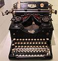 1900 Schreibmaschine Royal anagoria.JPG