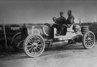 Società Torinese Automobili Rapid - 1907 Targa Florio - Cariolato in S.T.A.R. Rapid 6C