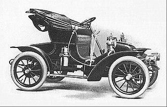 Autocar Company - 1908 Autocar XV