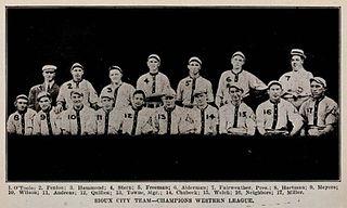 Sioux City Packers Minor League Baseball team