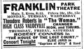 1915 FranklinParkTheatre BostonGlobe June6.png