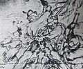 1916 - lupta corp la corp cu militarii austro ungari - desen de Ignat Bednarik.jpg