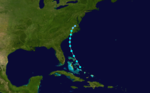 1916 Atlantic tropical storm 9 track.png