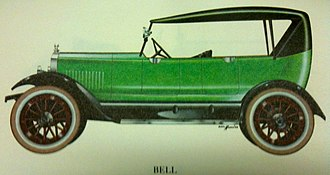 Bell Motor Car Company - 1920 Bell Touring Car
