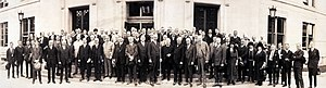 Depression of 1920–21 - Representatives attending the 1921 Conference on Unemployment held in Washington, D.C.