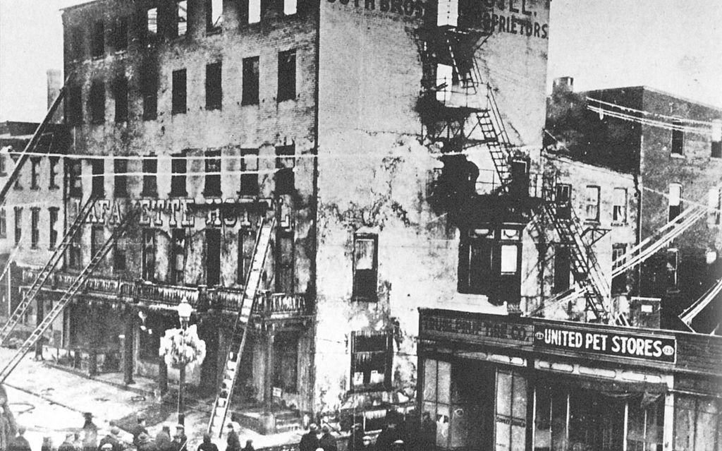 File:1926 - Lafyette Hotel Fire.jpg - Wikimedia Commons
