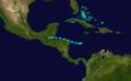 1926 Atlantic tropical storm 9 track.png