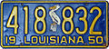 1950 Louisiana license plate.jpg